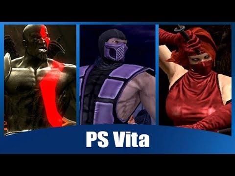 Mortal Kombat 9: All (PS3/PSVita Exclusive Skins) Intros And Win Poses
