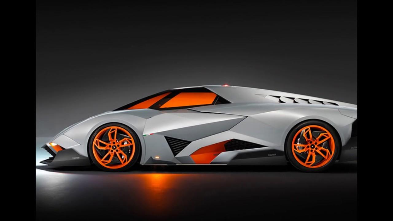 Lamborghini Egisto Sports Car Futuristic