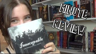Inescapable by Amy A. Bartol || Minute Review
