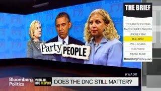 Debbie Wasserman Schultz and the DNC: Who Cares?