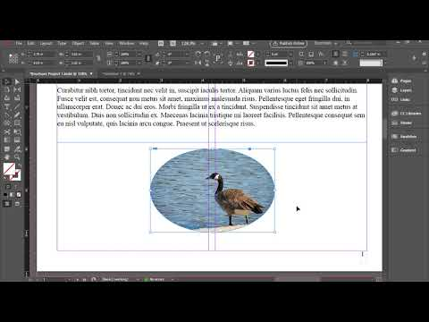 Wrapping Text Around an Image in InDesign