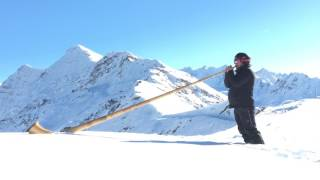 Video Alphorn und Orgel - Gallopen Alpenhorn download MP3, 3GP, MP4, WEBM, AVI, FLV Februari 2018