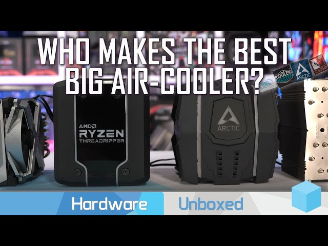 Big Boy Heatsinks! The 64 Core AMD Threadripper 3990X Cooler Test