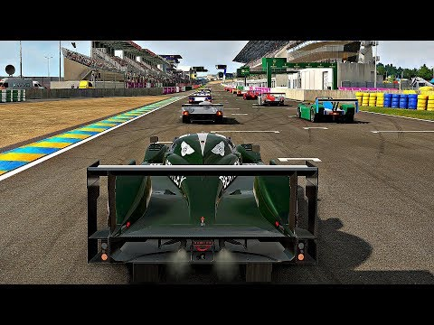 Project CARS 2 - Gameplay Bentley Speed 8 @ Le Mans [4K 60FPS ULTRA]