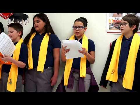 National School Choice Week 2018 Heritage Academy of San Antonio Choir