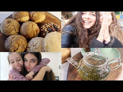 Cadde'nin En Tatlı Cafesi + Patlıcan Severler Toplantısı | VLOG