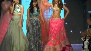 Ileana D'Cruz Hot Ramp Walk At Lakme Fashion Show 2015
