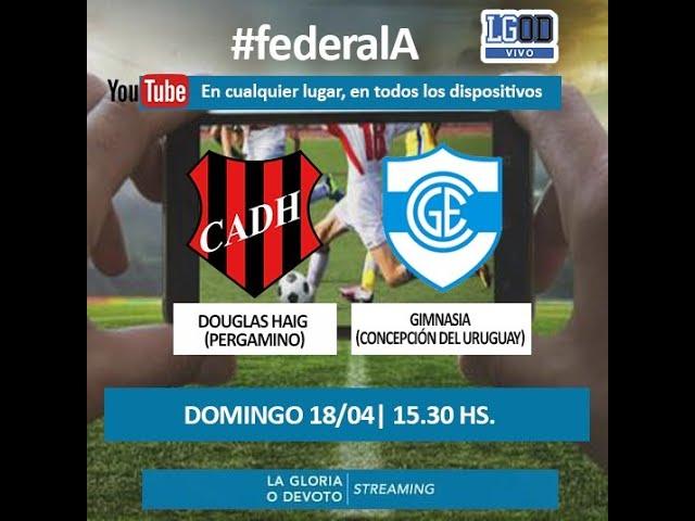 DOUGLAS HAIG - GIMNASIA (Concepción del Uruguay) Federal A 2021 Fecha 2 zona norte