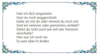 Cassandra Steen - Fallen Nach Oben Lyrics
