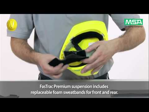 MSA V-Gard Helmet System: Inspection & Replacement