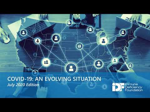 COVID-19: An Evolving Situation, An IDF Forum, July 23, 2020