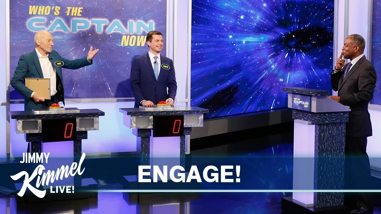 Star Trek Trivia – Sir Patrick Stewart vs Mayor Pete Buttigieg