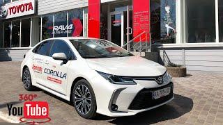 Обзор и тест-драйв новой Toyota Corolla 2019, 12-е поколение. Видео 360°.