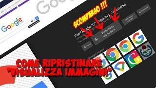 Ripristinare Visualizza immagini su Google !!! ArmaDisk ITA