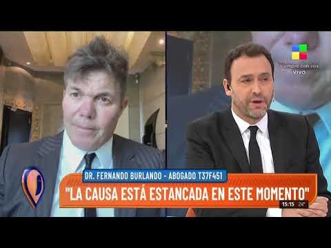 Fernando Burlando revela