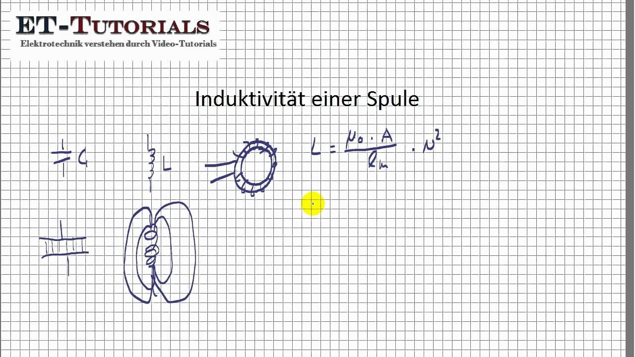 induktivität einer spule