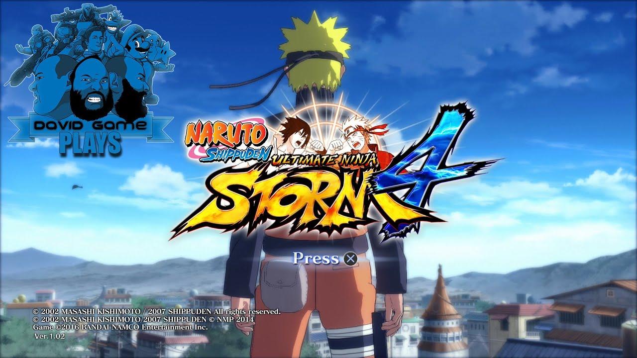 Naruto ultimate ninja storm 4 patch download