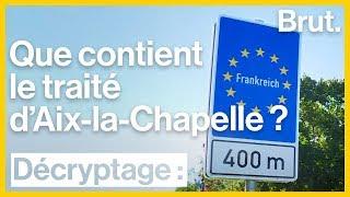 Que contient le traité d'Aix-la-Chapelle ?