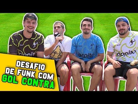 GOL CONTRA DESAFIA DE SOLA - DESAFIO DO FUNK COM RIMA
