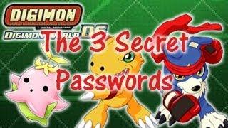 The 3 Secret Passwords | Digimon World DS