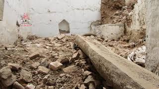 الحديدة .. تدمير منزل مواطن بقصف الحوثيون على الأحياء السكنية في التحيتا