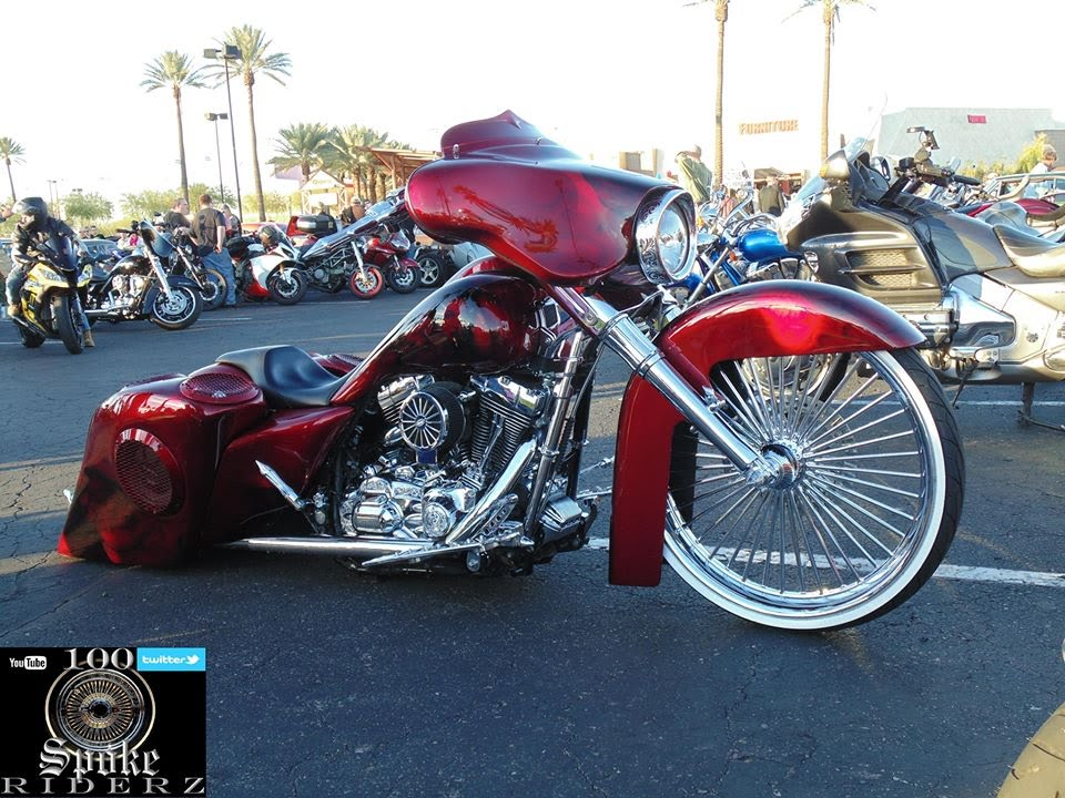 custom harley davidson bagger - youtube