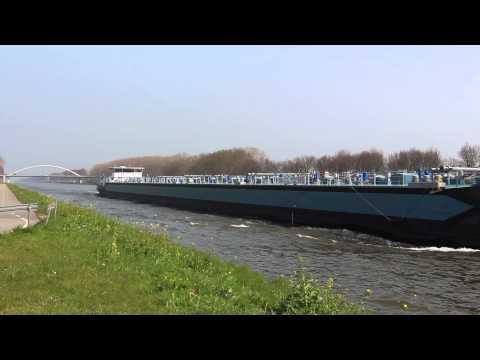 Boats on Amsterdam–Rhine Canal #3