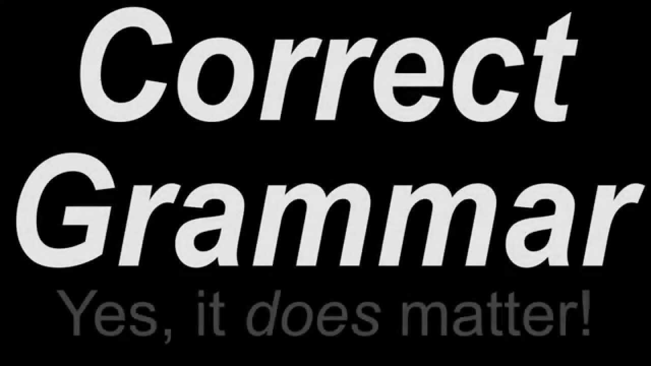 Is this proper grammar?