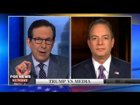 Priebus And Wallace Battle Over The Media's Treatment Of President Trump