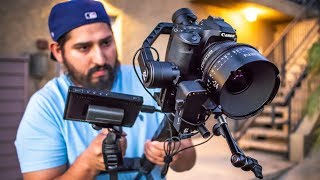 When you Fully Accessorize the Zhiyun Crane 2