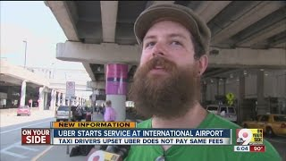 Uber now cleared for pickups at CVG, too