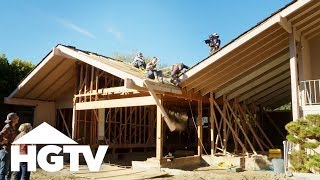 Building Brady: The Roof Comes Off! - HGTV