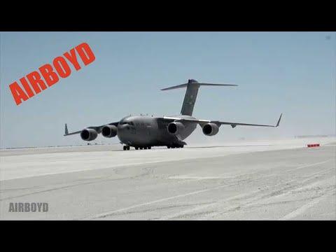 C-17 Landing White Sands