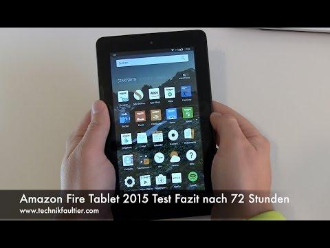Amazon Fire Tablet 2015 Test Fazit nach 72 Stunden