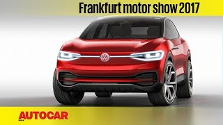 VW ID Crozz   Frankfurt Motor Show 2017   Autocar India