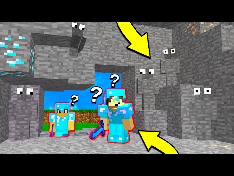 INVISIBLE TROLLING + MINECRAFT TRAPS! (Minecraft Trolling)