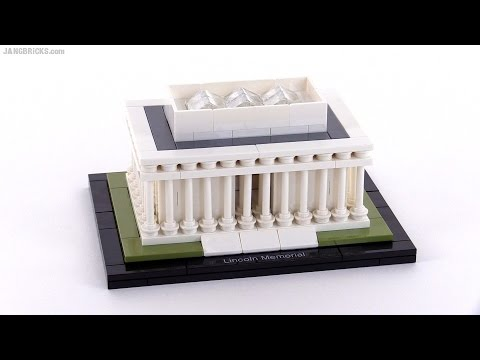 LEGO Architecture Lincoln Memorial review! set 21022