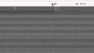 Logic 9 Piano Roll