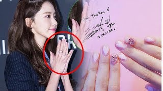 YOONA Best nails style On Instagram So Perfect and Lovely  Ever