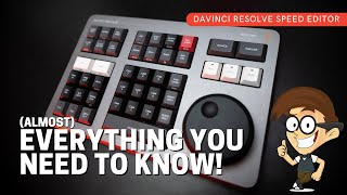 DAVINCI RESOLVE SPEED EDITOR - Does it work on the EDIT PAGE?! Overview, Q&A and Demonstration