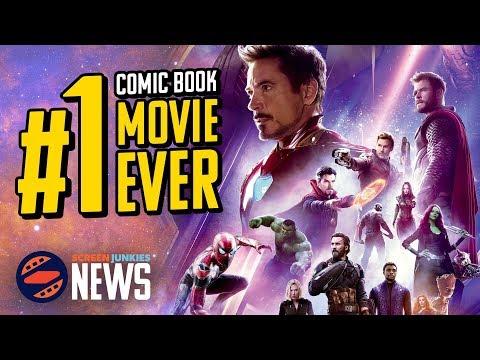 Infinity War Becomes #1 Global Superhero Film Ever - Charting with Dan!