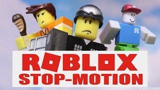 SUMMER BREAKOUT! (Mini-sode Jailbreak) (Stop-motion Toy Parody) #RobloxToys
