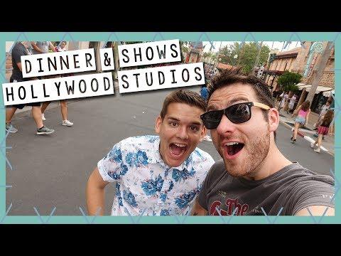 Hollywood Studios Dinner and Shows | Disney World Vlog September 2017