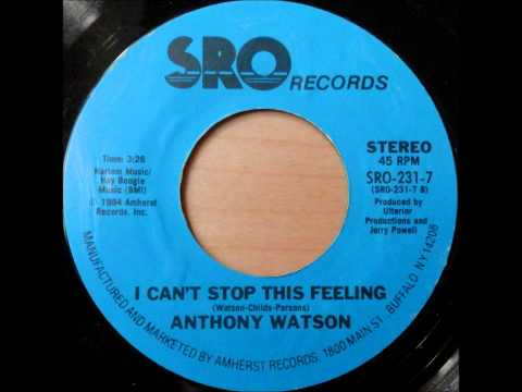 Anthony Watson - I Can't Stop This Feeling