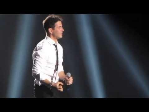 NKOTB - Joe McIntyre - Please Don't Go Girl - live at Staples Center 2013