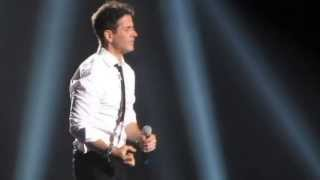 NKOTB - Joe McIntyre - Please Don't Go Girl - live @ Staples Center 2013
