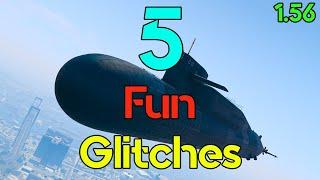 5 Fun Glitches in GTA Online - 1.56 #15