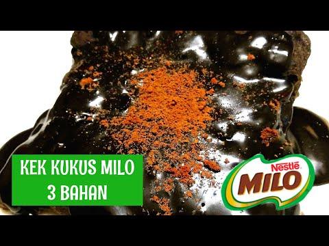 kek-milo-kukus-viral-3-bahan-je-|-wajib-cuba