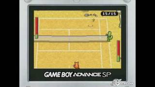 Superstar Tennis Game Boy Gameplay