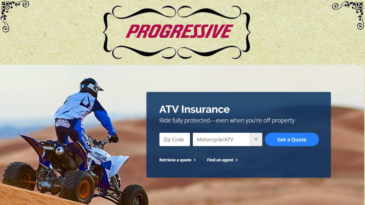 Progressive Retrieve Quote Atv Insurance Coverage Protection That Has No Boundaries  Youtube